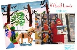 Maud Lewis Folk Art Painting Lesson