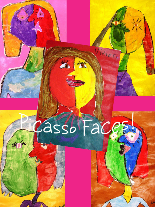 Picasso Self Portraits For Kids Picasso portraits for kids