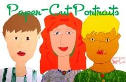 Paper Self-Portraits for Third Grade