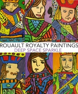 Rouault Inspired Royalty Painting