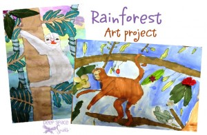 Rainforest-art-project