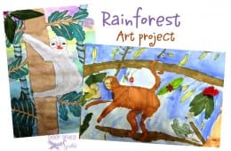 Rainforest Art Lesson