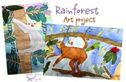 Rainforest Art Lesson