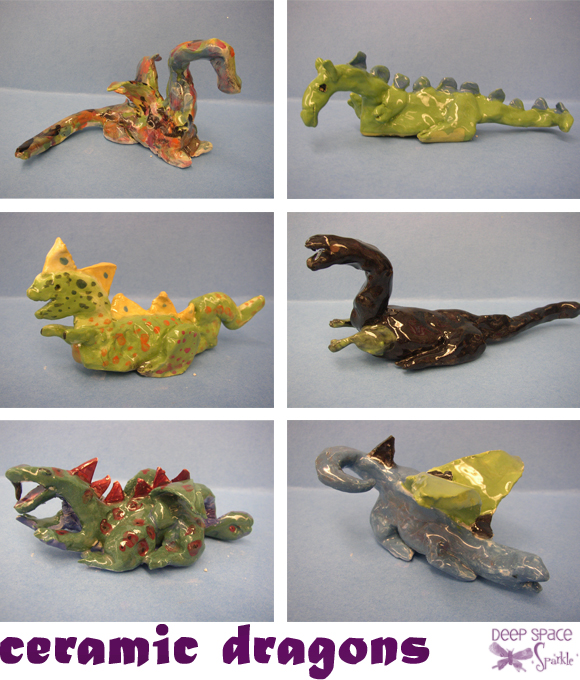 clay-dragons