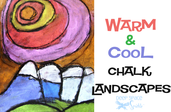 Warm-and-Cool-Chalk-Landscape