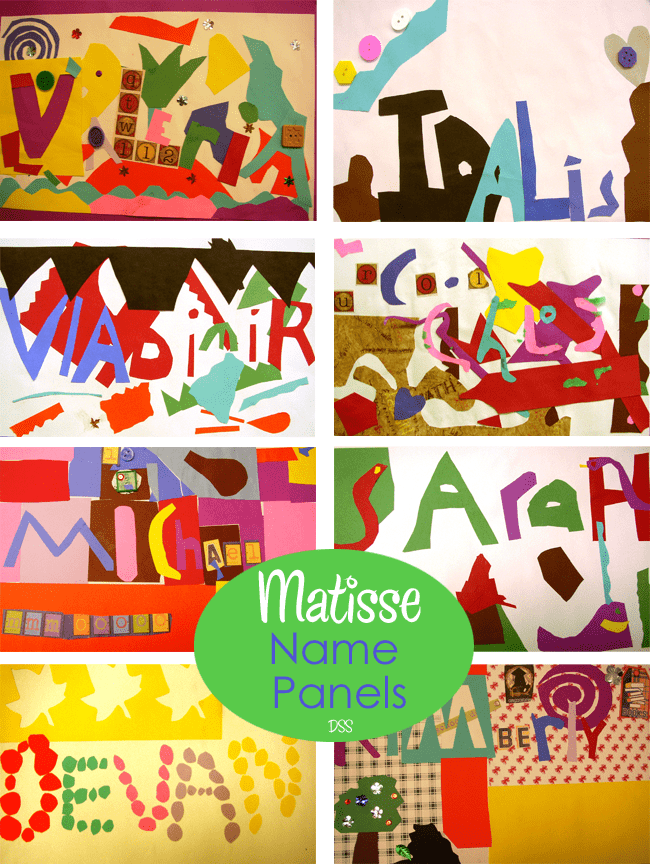 Matisse-Name-Panels