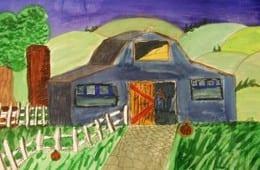 Drawing Barns and Rural Settings