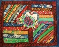 Aboriginal Painting Lesson
