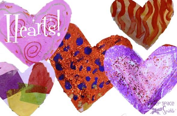 Valentineu0027s Day Heart Collage