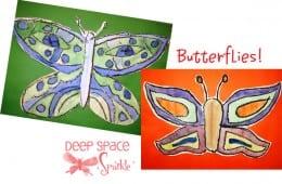 Symmetrical Butterflies