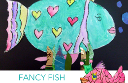 Fancy Glitter Fish