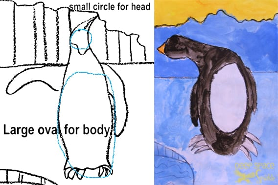 penguin art project deep space sparkle rh deepspacesparkle com Fourth Grade Classroom Themes 10 Grade Classroom