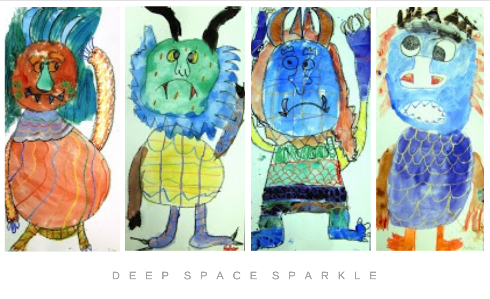 Where The Wild Things Are Inspired Art Lesson Gallery