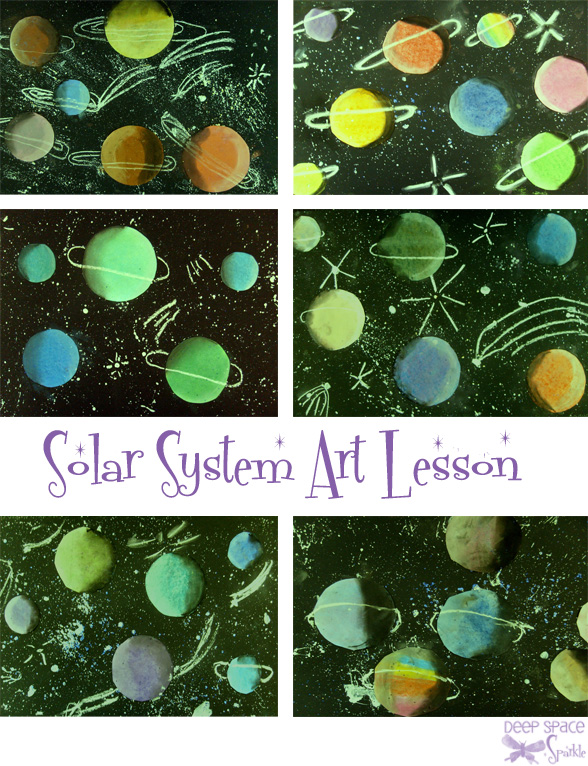 solar system project 1st grade - photo #11