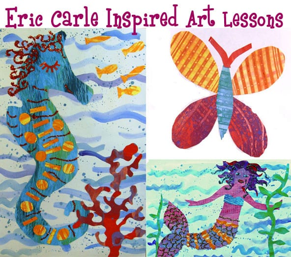 Eric Carle Inspired Art Lessons Plans | Deep Space Sparkle
