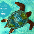 Turtle-and-fish-craft