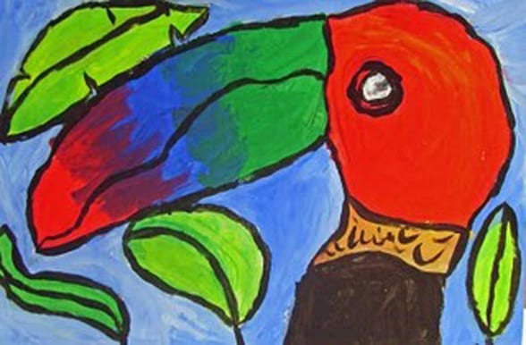 Terrific Toucans Drawing And Painting Toucans For Fourth