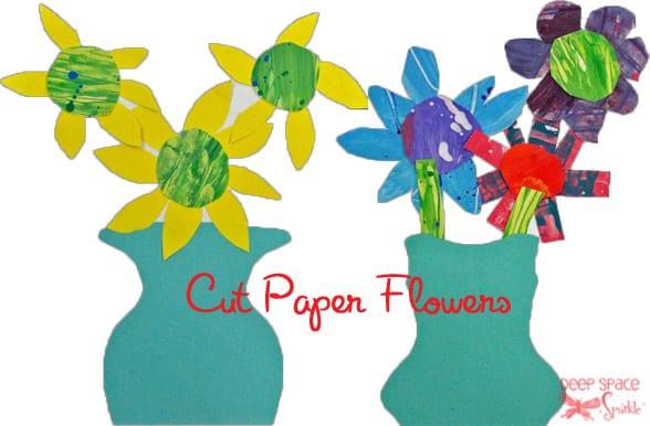 Cut-paper-flowers