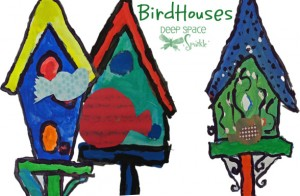 Birdhouse art project