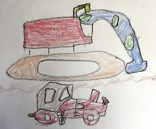 Trucks and Tractors: Kindergarten Shape Lesson