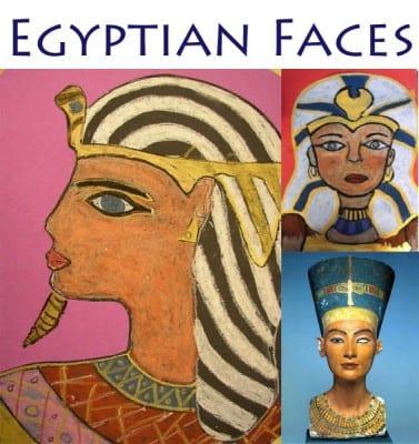 Egyptian Faces Deep Space Sparkle