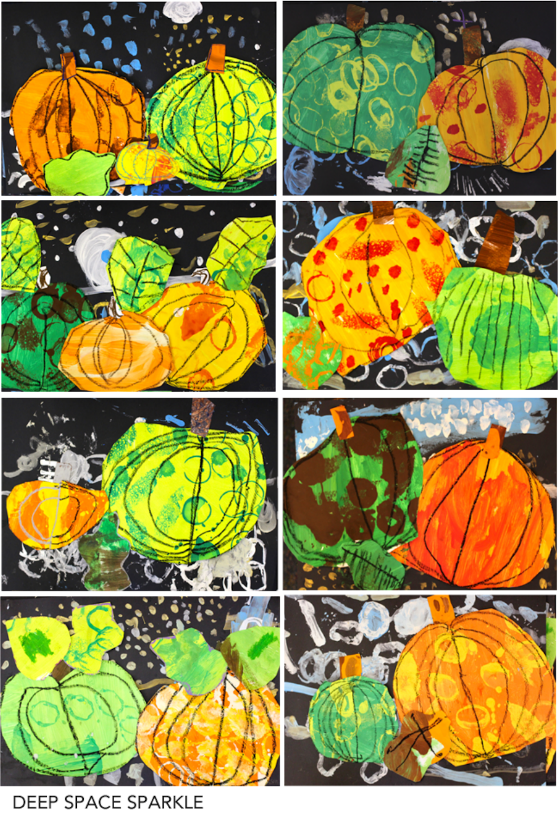 Autumn Collage For the Fall