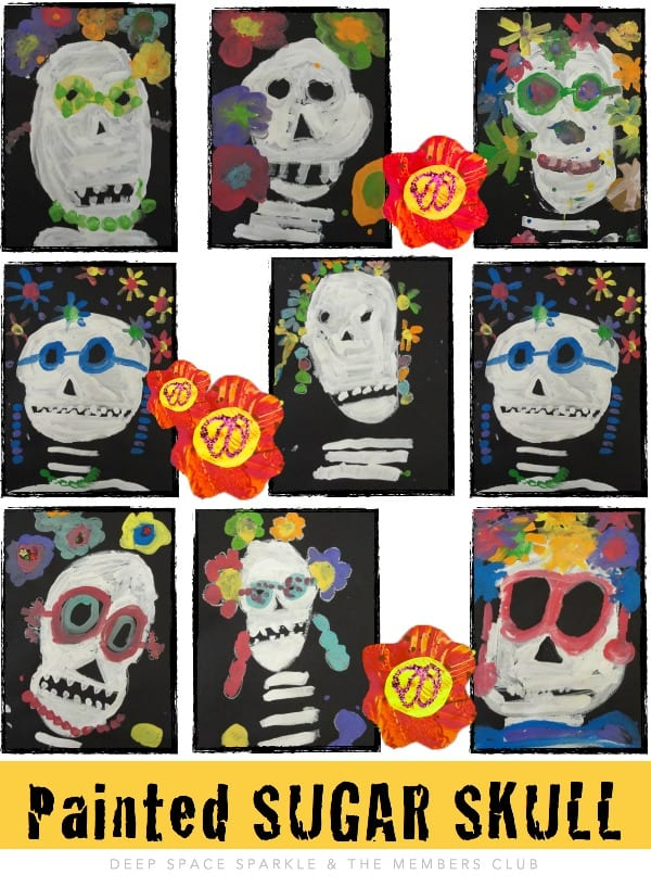 Painted Sugar Skull Gallery