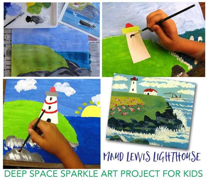Maude Lewis Art project for Kids