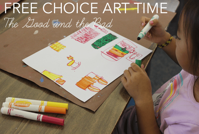 Free choice in the art room: tips for stress free teaching