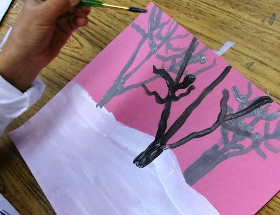 Mid-Ground Trees