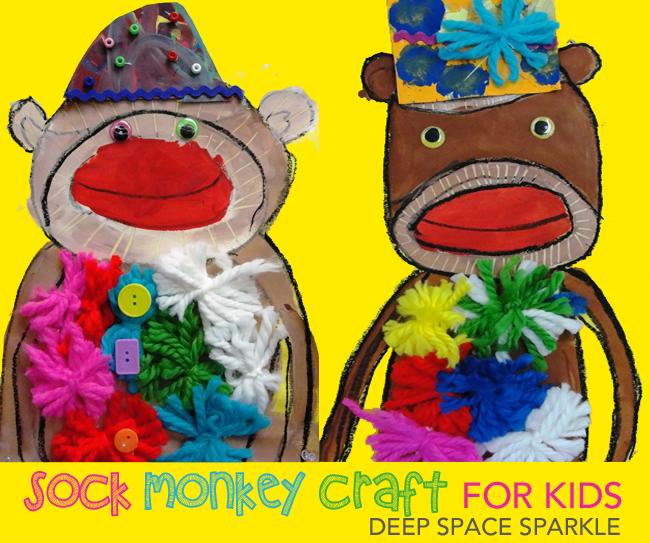 sock-monkey-art-project