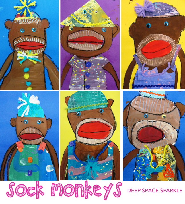 sock-monkeys-by-third-graders