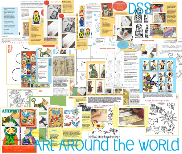 Art from Around the World: art projects for kids
