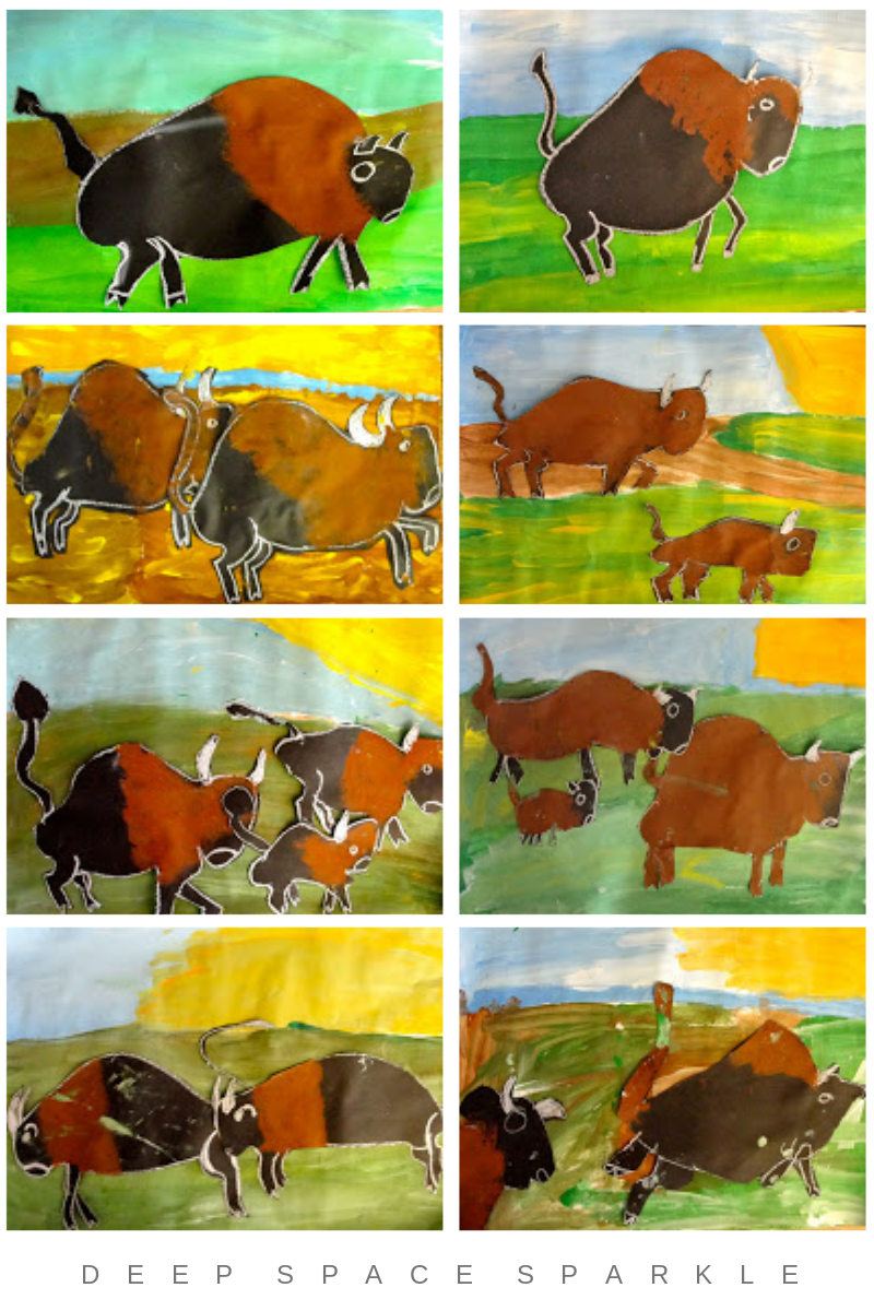 Bison Art Lesson Gallery