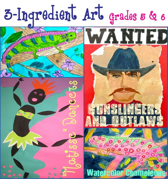 3-Ingredient Art 5/6 Lesson Plans
