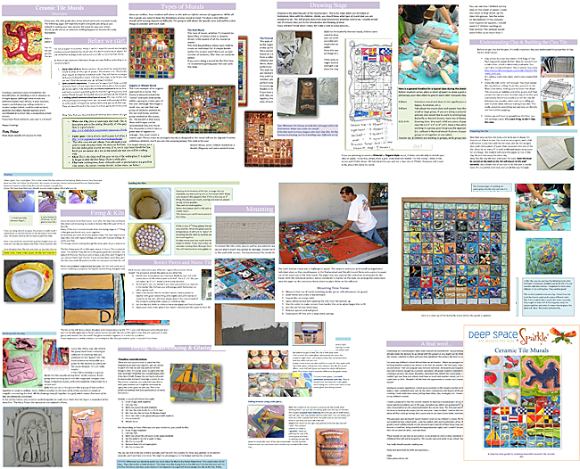 Preview the Ceramic Tile Mural Project from DSS