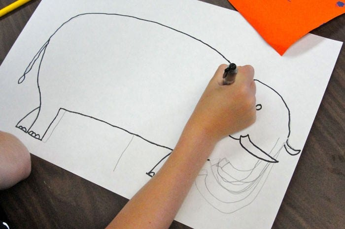Drawing the elephant