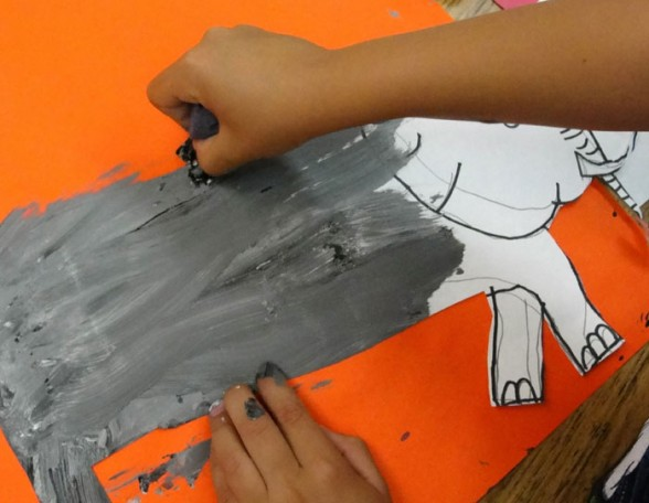 Painting the elephant