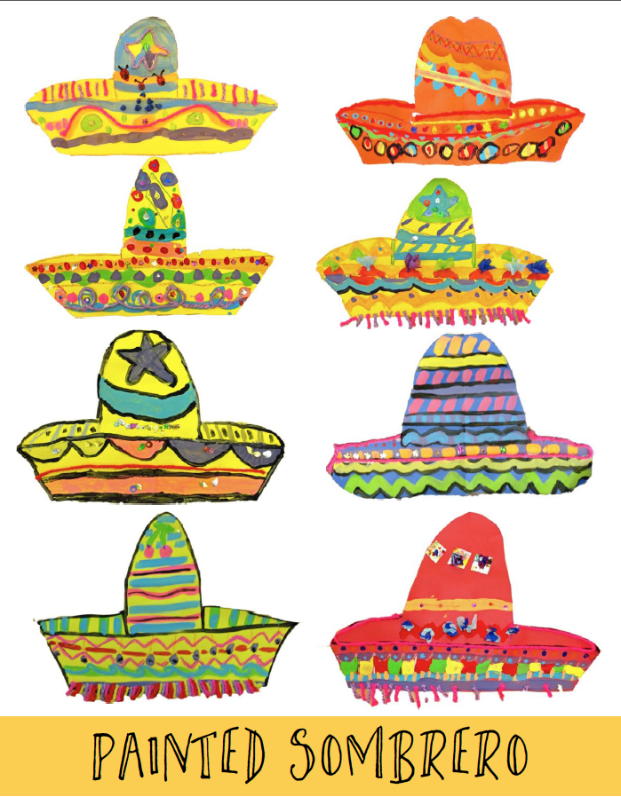 Painted Sombrero Art Project