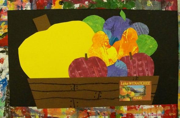 Mexican Unit: Fruit Crate Art Project