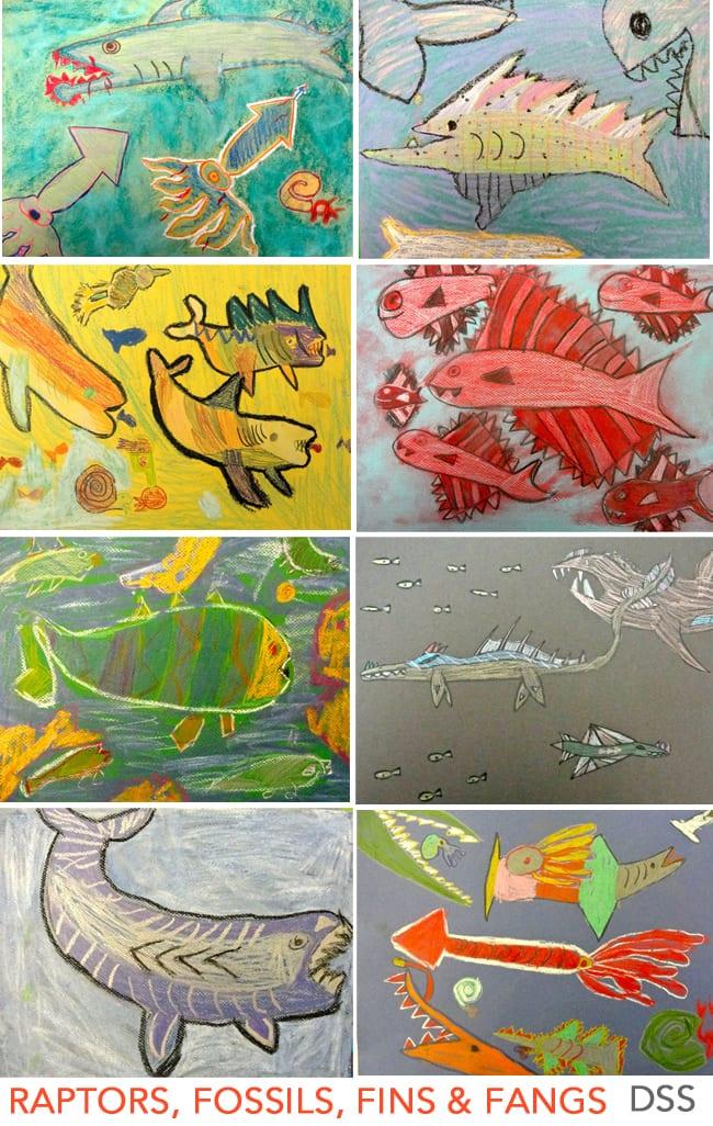 prehistoric-fish-art-project-