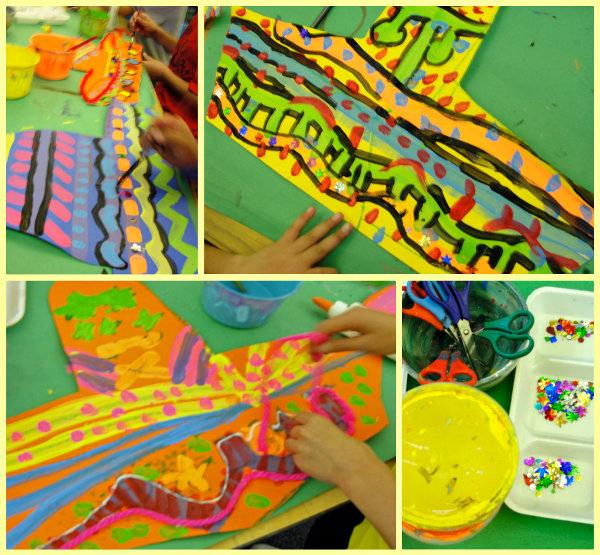 Mexican Art Unit Sombrero Poncho Art Project Deep Space Sparkle