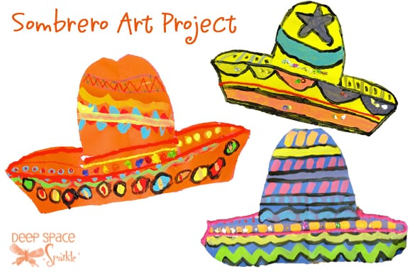 Mexican Unit: Sombrero & Poncho Art Project