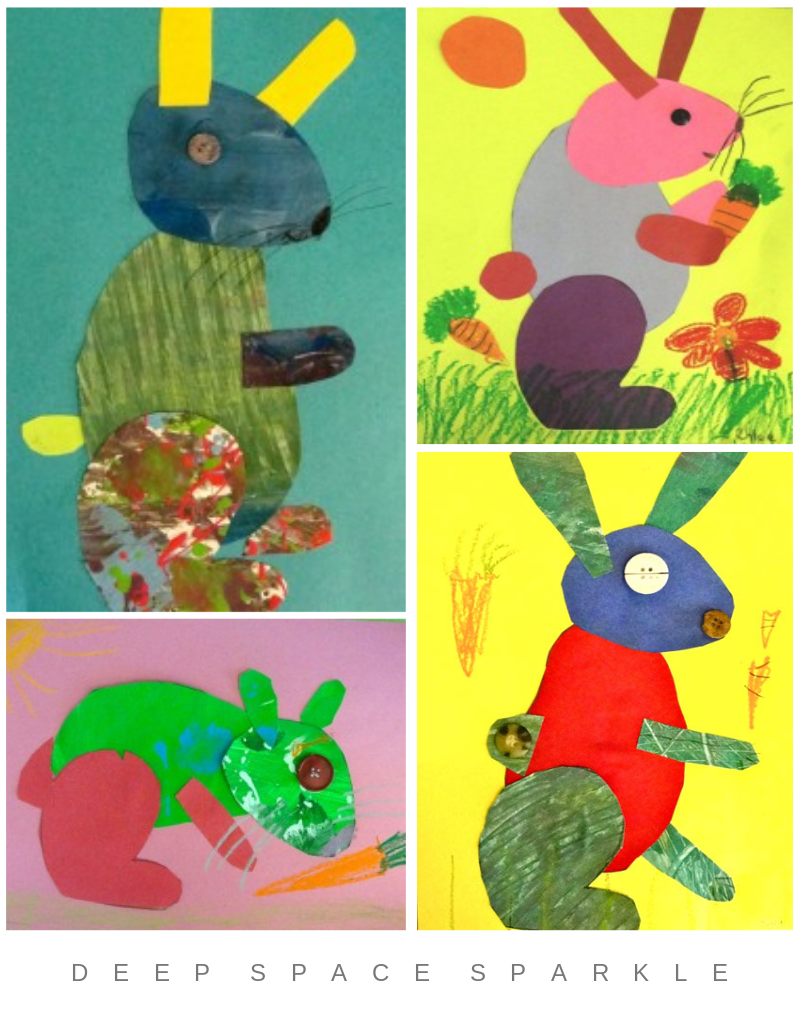 Bunny Art Lesson Gallery