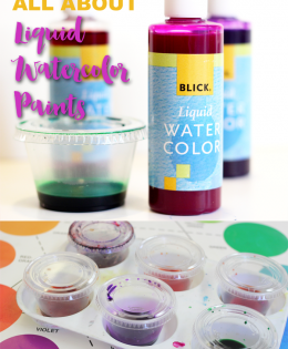 All About Liquid Watercolor Paints