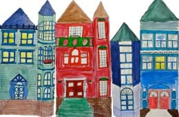 Painted Victorian Homes Art Lessons