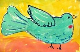 Watercolor Birds Art Video