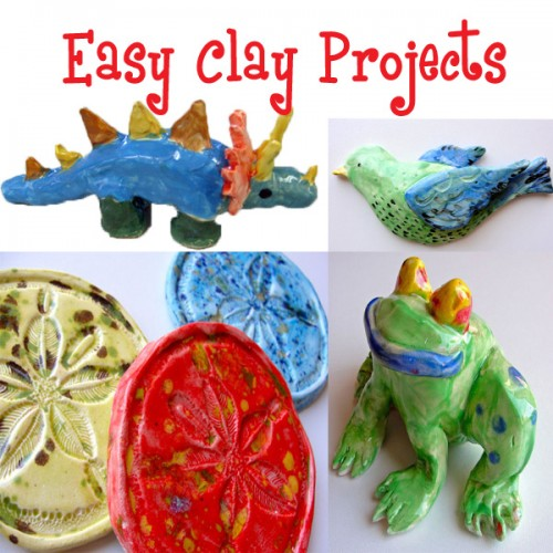 Easy Clay Projects Art Lesson Plans | Deep Space Sparkle