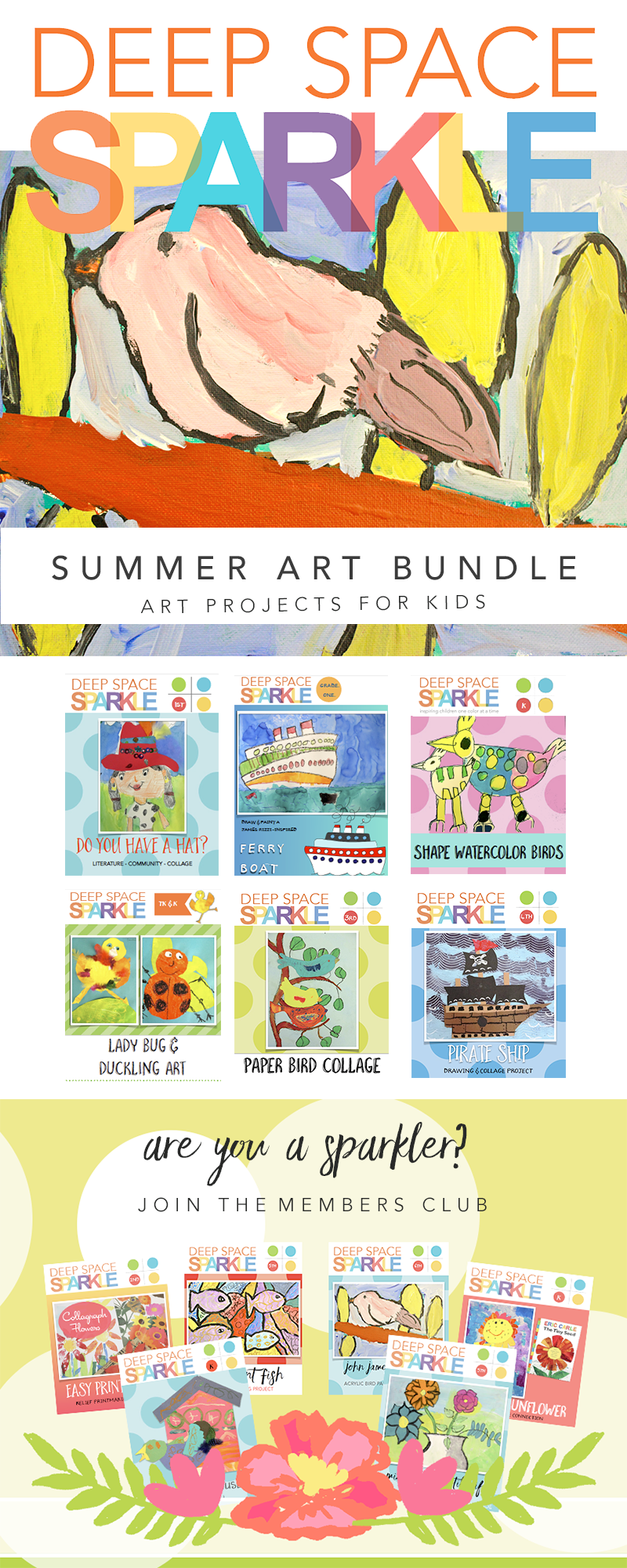 Summer Fun Art Bundle inside Deep Space Sparkle's Members Club