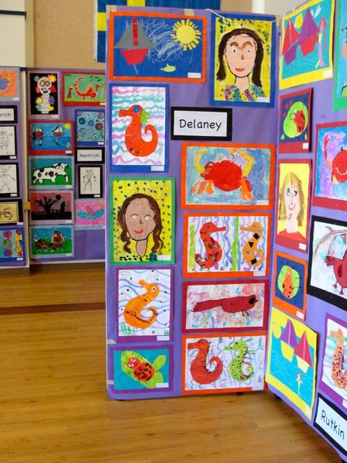 Brandon School's 2011 Art Show